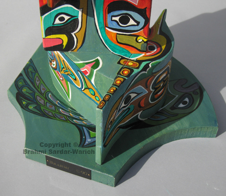 Totem (Base Detail Sides 2 and 3)